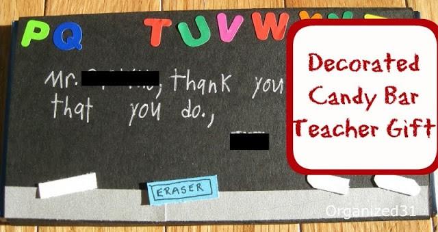 Quick & Easy Teacher Gift - Organized 31