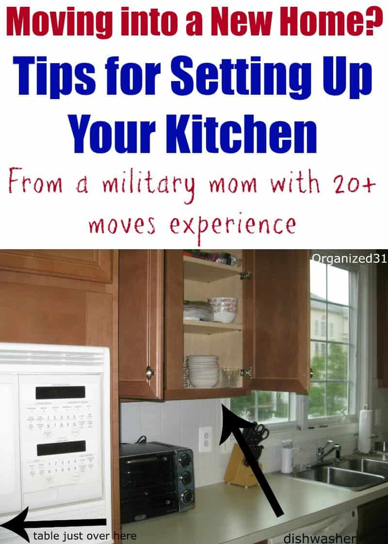 Moving into a New Home & How to Set Up Your Kitchen - Organized 31