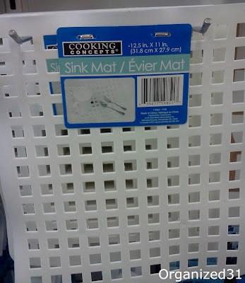 white grid mats