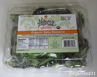 plastic lettuce container
