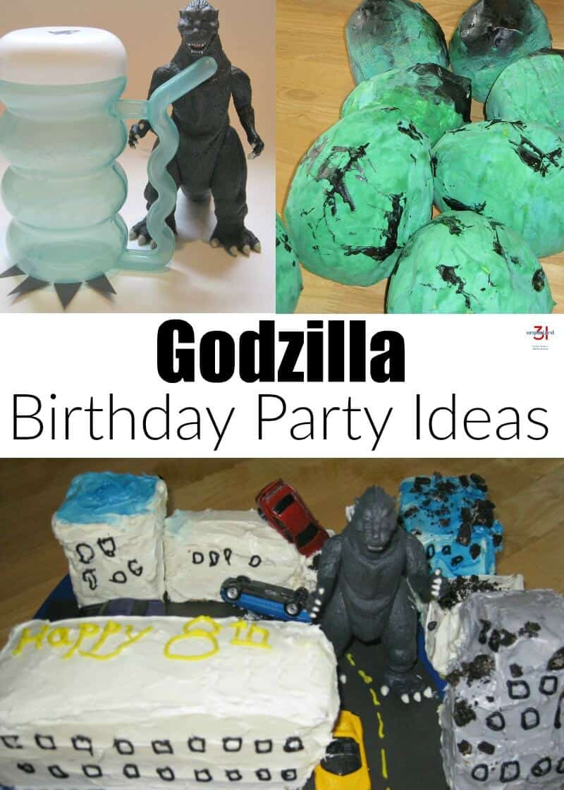 A Godzilla Birthday Party is fun for children from ages 5 to 95. These simple ideas are easy to create, even for the beginner crafter or baker.