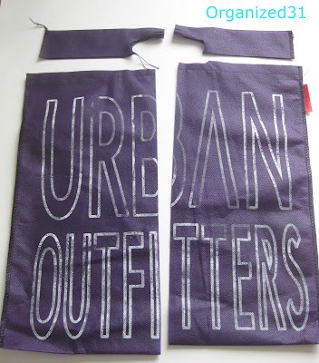 Organized31 - Repurposed Urban Outfitters Bag