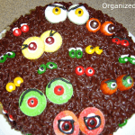 Scary Eyes Halloween Cake
