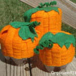 Soda Bottle Pumpkins