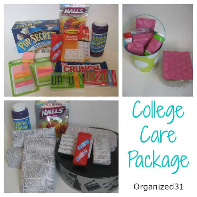 College Care Packages - Organized 31