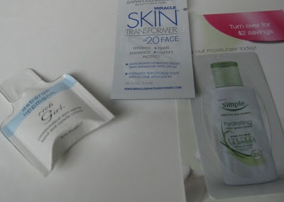 small sample size personal care products