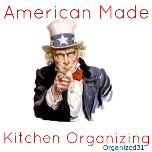 Organized31 - American Made Kitchen Organizing