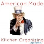 My Favorite Made in the USA Kitchen Organizing Products