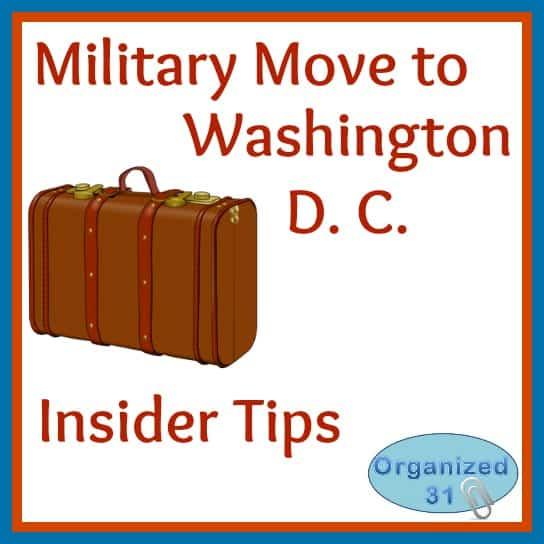Organized31 - Military Move to Washington D. C.