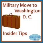 Military Move to D. C . – Insider Tips