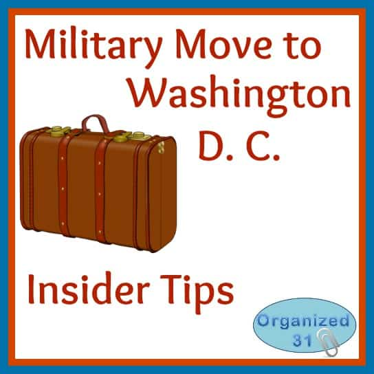 Military move to d c insider tips organized 31 for Moving to washington dc advice
