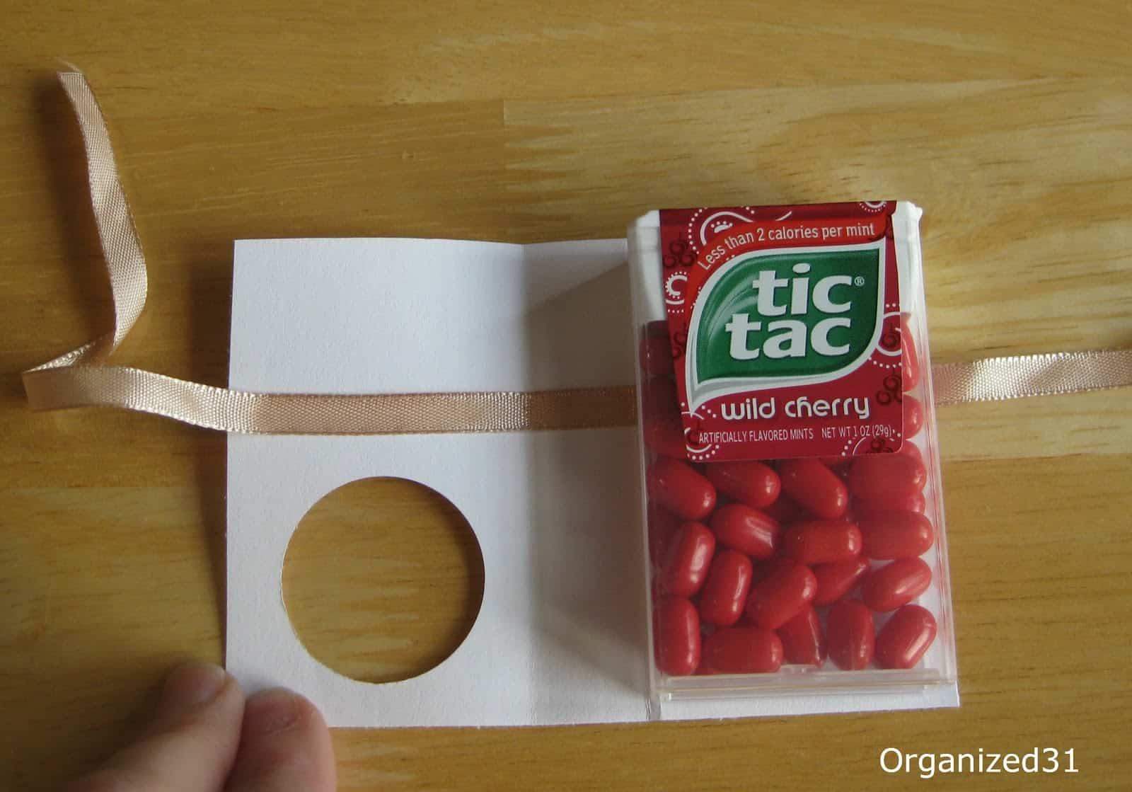 Valentine\'s Tic Tac Treats - Organized 31