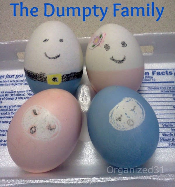 Organized 31 - The Humpty Dumpty Family Easter Eggs