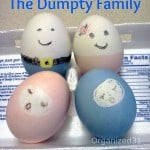 Family Humpty Dumpty Easter Eggs - Organized 31
