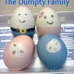 Meet the Dumpty Family Easter Eggs