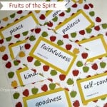 Fruit of the Spirit Cards