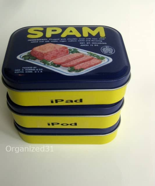 Organized31 - iSpam cord storage
