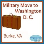 Military Move to D.C. – Burke, VA