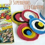 If Superheroes Used Coasters