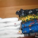 Couch Potato Organizing – How to Fold and File Pajamas