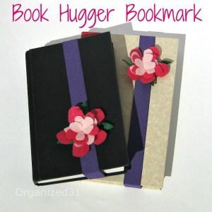 Felt Book Hugger Book Marks - Organized 31