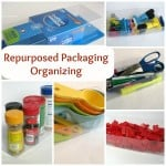 Organizing with Repurposed Packaging – 1 Item 10 Different Ways