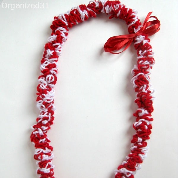 Organized 31 - Crocheted Graduation Lei