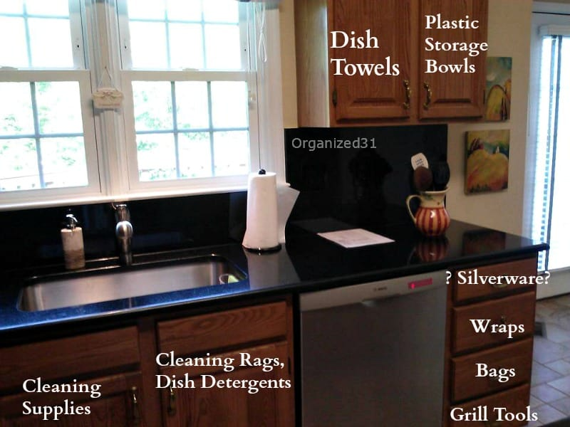 how to organize your kitchen layout - organized 31