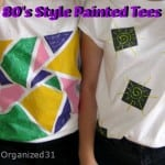80's Style Painted Tees