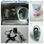 Organize Your Car with a Repurposed Plastic Can