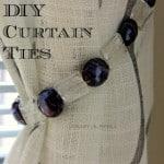 Guest Post – Dianna's DIY Curtain Ties