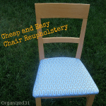 Cheap and Easy Chair Reupholstery