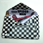Back-to-School Duck Tape Superhero Envelope