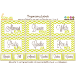 Kidecals – American Made Labels for Organizing Families