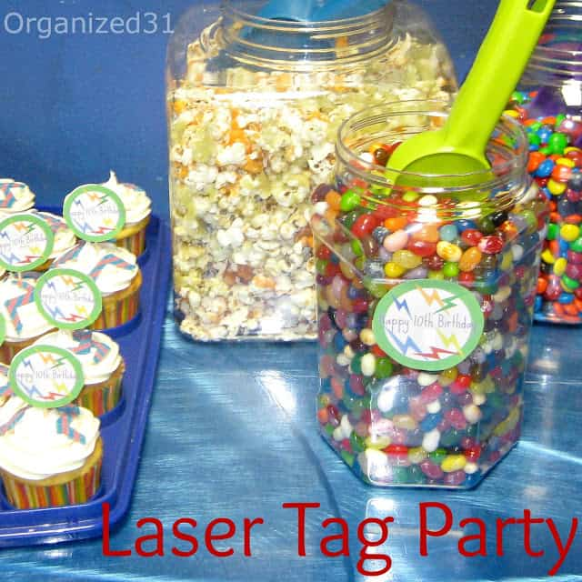 Organized 31 - Laser Tag Party