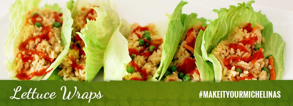 Make It Your Michelina's: Lettuce Wraps