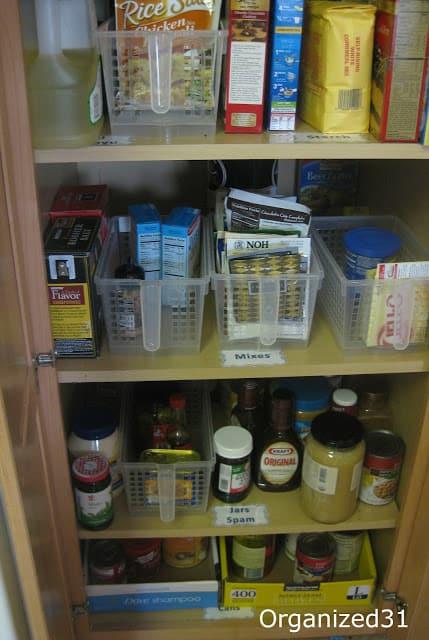 Organized 31 - Simple Kitchen Pantry Organizing