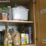 Organizing K's Kitchen Pantry
