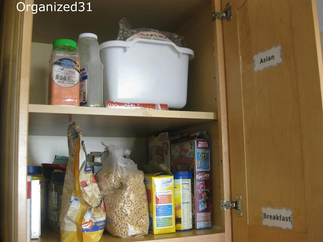 Organized 31 - Simple Kitchen Pantry Organizing