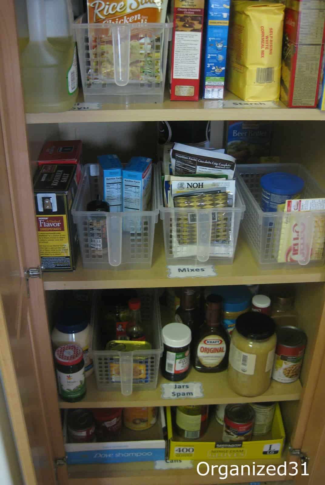 Organizing K 39 S Kitchen Pantry Organized 31
