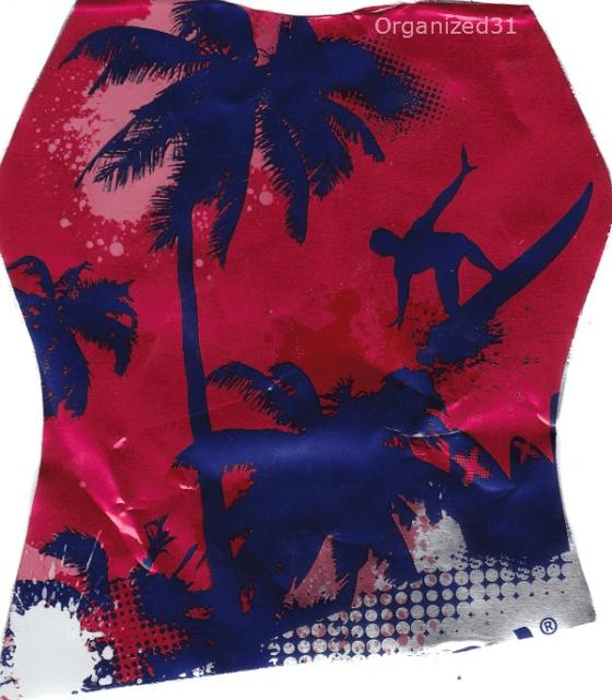 Capri Sun Big Pouch Fruit Punch palm tree surfing graphic  #shop