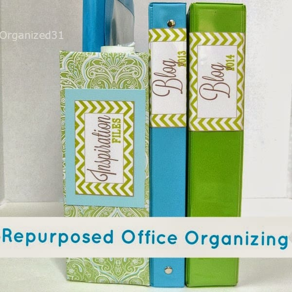 Organized 31 - Repurposed Office Organizing