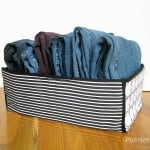 How to Fold and Organize Jeans
