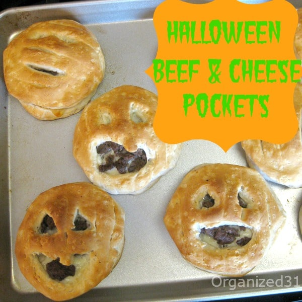 Halloween Dinner Pockets - Organized 31