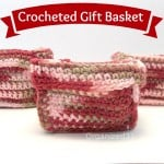 Easy Crocheted Square Basket