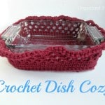 Crochet Casserole Cozy Just in Time for Thanksgiving & the Holidays