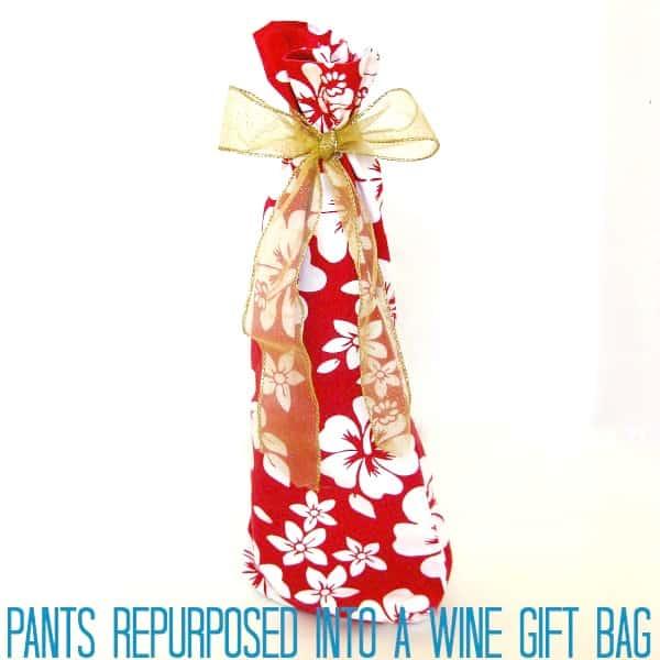Organized 31 - Wine Gift Bag
