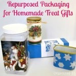 Repurposed Packaging + Mod Podge for Homemade Treat Gift Giving