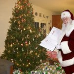Free Personal Santa Photo from iCaughtSanta.com