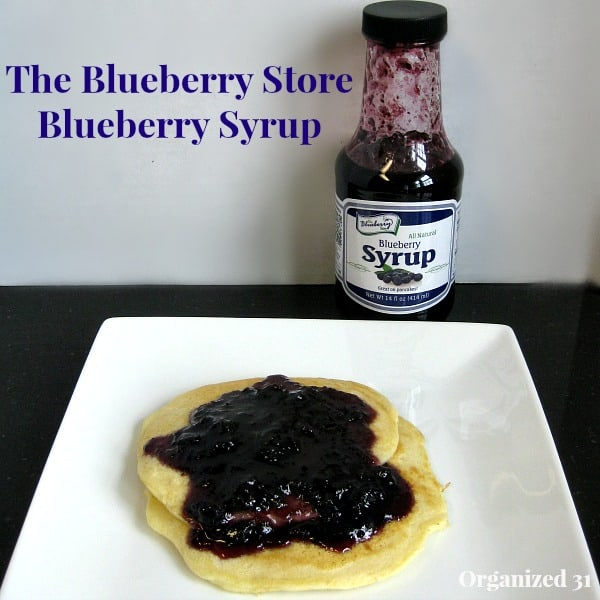 The Blueberry Store syrup